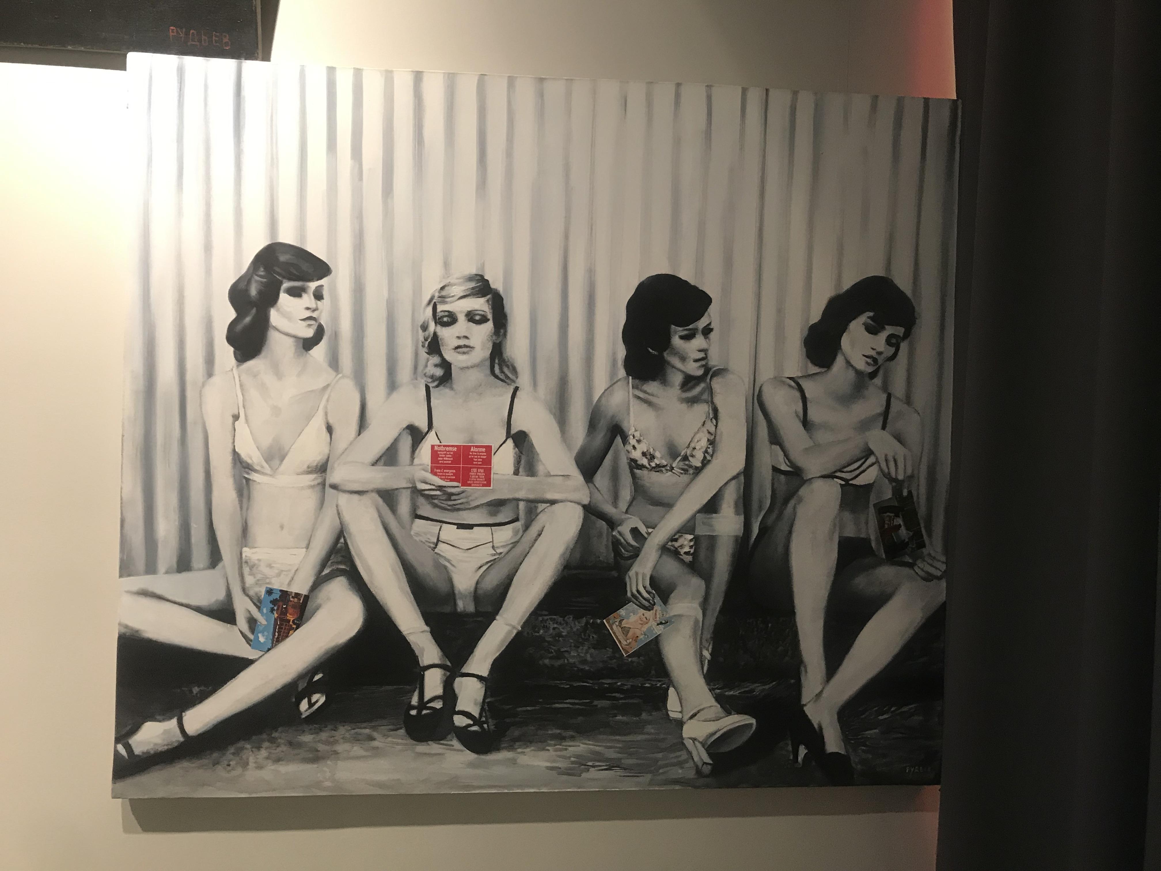 Монохромное искусство: открытие выставки Андрея Рудьева