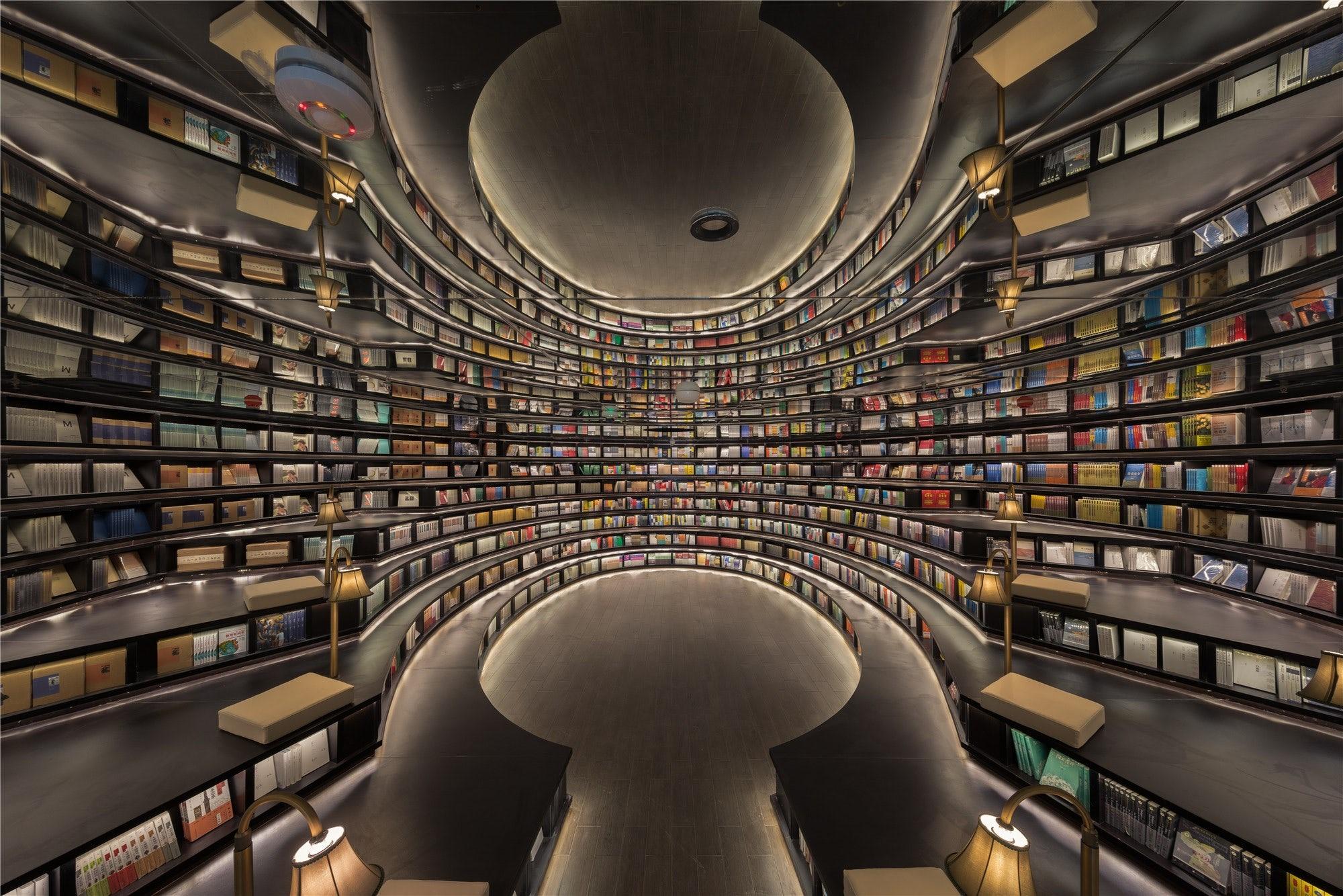 Топ 5 самых красивых библиотек в Китае