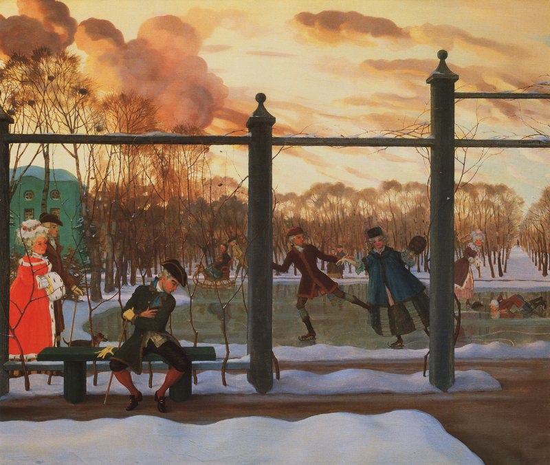 Выставка Сомова в Русском музее