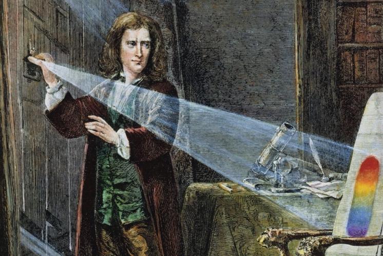 Ньютон использовал карантин для изучения природы света