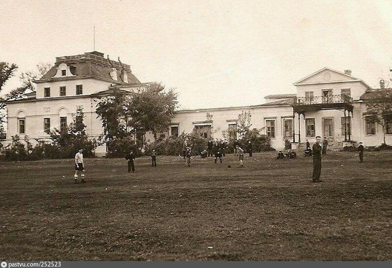 """усадьба """"Усолье"""" в советское время"""