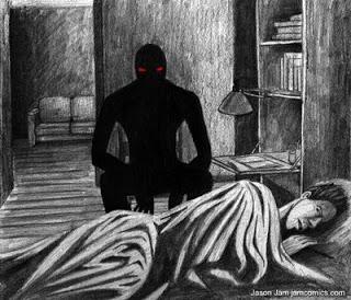 Монстр в кровати