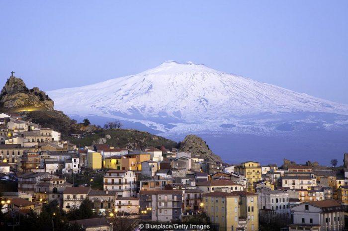 Этна — самый активный вулкан на Земле