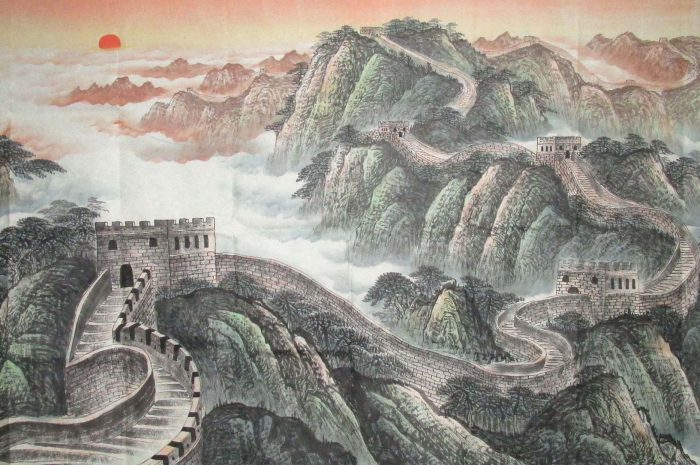Как я Великую Китайскую стену покоряла