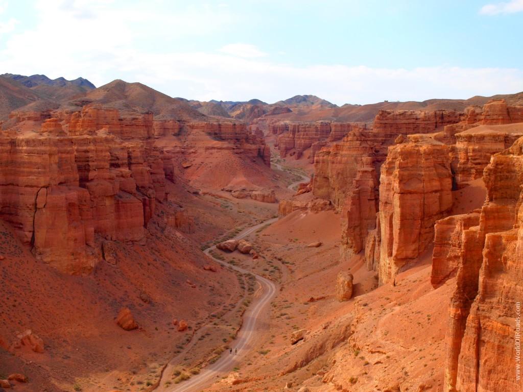 Чарынский каньон в Алматы. Долина Замков