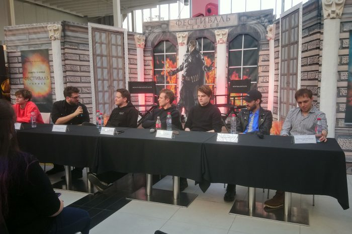 «Майор Гром» на пресс-конференции