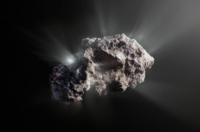Визит из космоса: Комета Борисова удивила астрономов